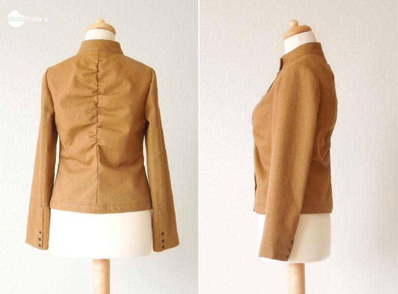 Digital Marmalade Gathered Jacket Sewing Pattern   Shop   Oliver + S
