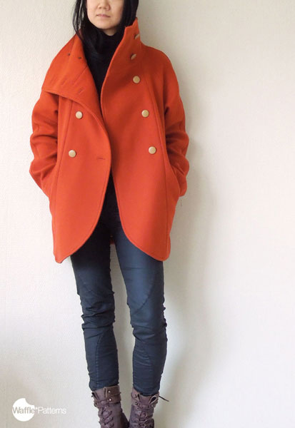 Digital Yuzu Raglan Coat Sewing Pattern Shop Oliver S